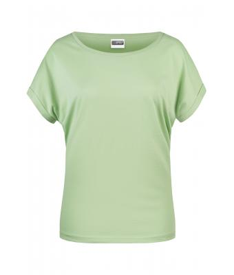 Ladies Ladies' Casual-T Soft-green 8377