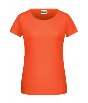 Ladies Ladies' Basic-T Coral 8378