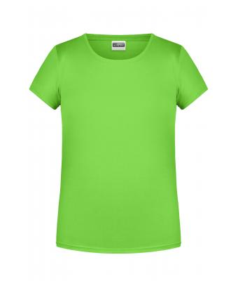 Kids Girls' Basic-T Lime-green 8475