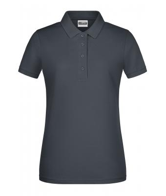 Damen Ladies' Basic Polo Graphite 8478