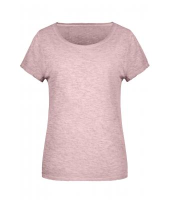 Ladies Ladies' Slub-T Soft-pink 8480