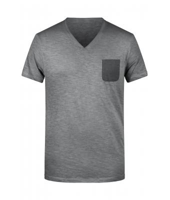 Men Men's Slub-T Graphite 8481