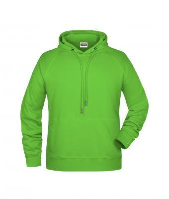 Homme Sweat shirt à capuche homme Vert citron Daiber