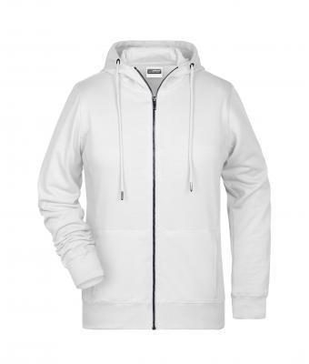 Shirt Zippé Capuche À Blanc Daiber Femme Sweat DeIEHYb2W9