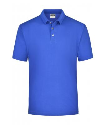 Herren Polo-Piqué Medium Royal 7198