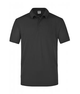 Men Worker Polo Black 7203