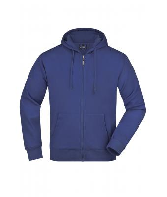 Herren Men's Hooded Jacket Royal 7212
