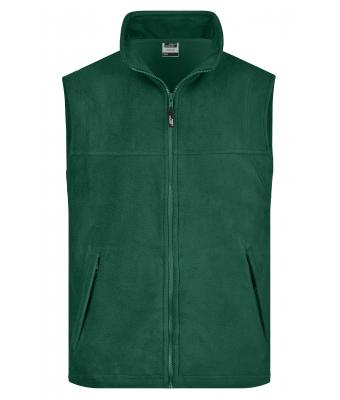 Herren Fleece Vest Dark-green 7216