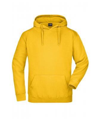 Herren Hooded Sweat Gold-yellow 7218