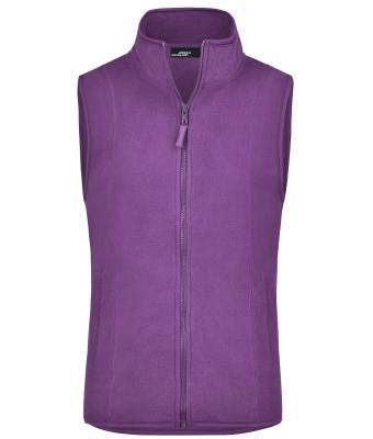 Damen Girly Microfleece Vest Purple 7220