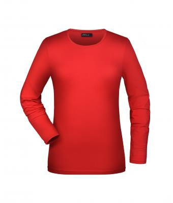 Damen Tangy-T Long-Sleeved Red 7226