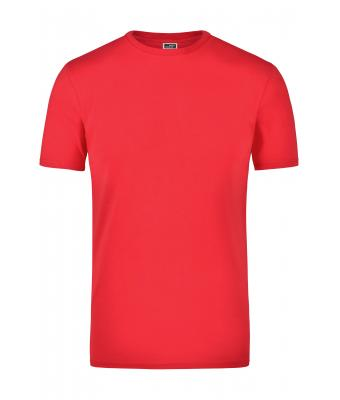 Homme Tee-shirt stretch 200 g/m² homme Rouge 7227