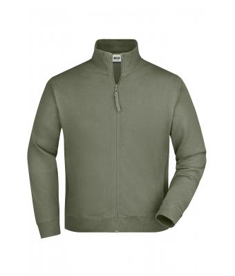 Unisex Sweat Jacket Olive 7230