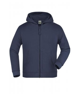 Kinder Hooded Jacket Junior Navy 7232
