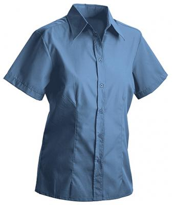 Ladies Ladies' Blouse Short Blue 7239