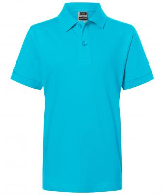 Kinder Classic Polo Junior Turquoise 7241