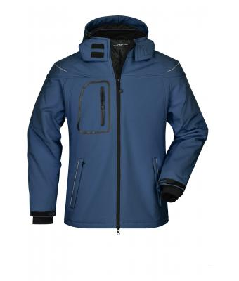 Men Men's Winter Softshell Jacket Navy 7259