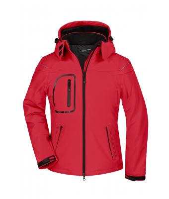 Damen Ladies' Winter Softshell Jacket Red 7260