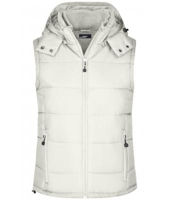 Ladies Ladies' Padded Vest Natural 7264