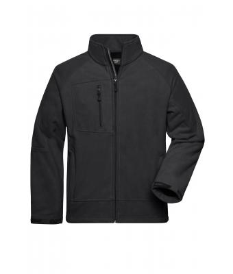 Men Men's Bonded Fleece Jacket Carbon/black 7265