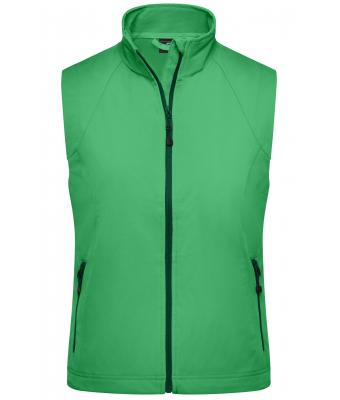 Damen Ladies' Softshell Vest Green 7284