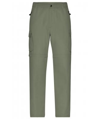 Herren Men's Zip-Off Pants Dusty-olive 7287