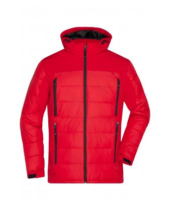 Herren Men's Outdoor Hybrid Jacket Red 8093