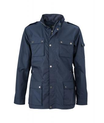 Men Men's Urban Style Jacket Navy 8099