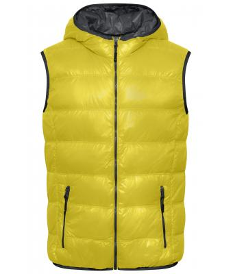 Men Men's Down Vest Yellow/carbon 8105