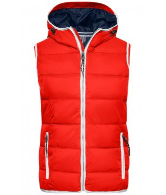 Ladies Ladies' Maritime Vest Red/white 8185