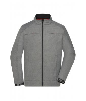 Men Men's Softshell Jacket Light-melange 8278