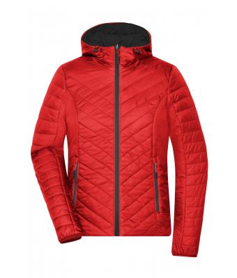 Ladies Ladies' Lightweight Jacket Red/carbon 8271
