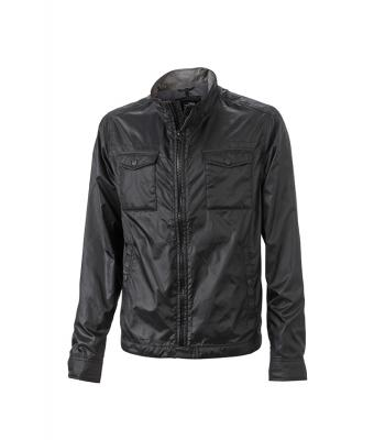 Men Men's Travel Jacket Black 8276