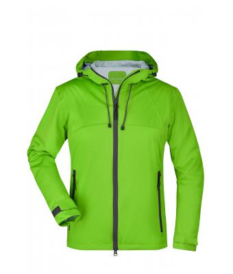 Ladies Ladies' Outdoor Jacket Spring-green/iron-grey 8280