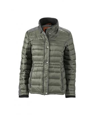 Damen Ladies' Winter Jacket Pine-green 8298
