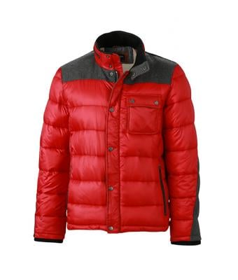 Herren Men's Winter Jacket Indian-red 8299