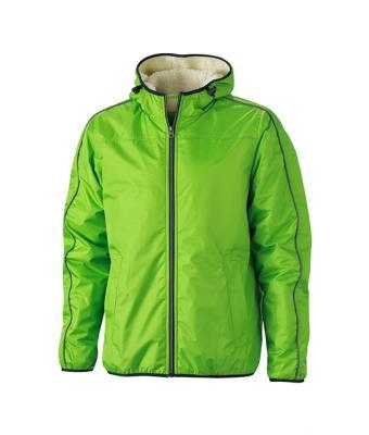 db8d29f853f86 Men Men's Winter Sports Jacket Spring-green/off-white-Daiber