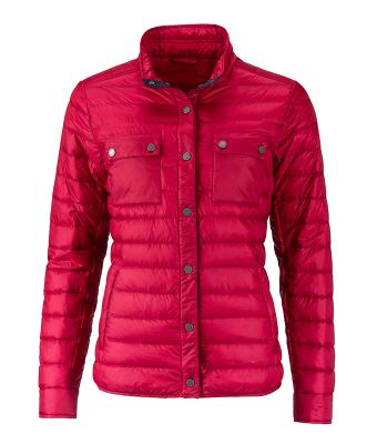 Damen Ladies' Lightweight Down Jacket Indian-red 8403