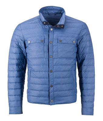 Men Men's Lightweight Down Jacket Denim-melange 8404