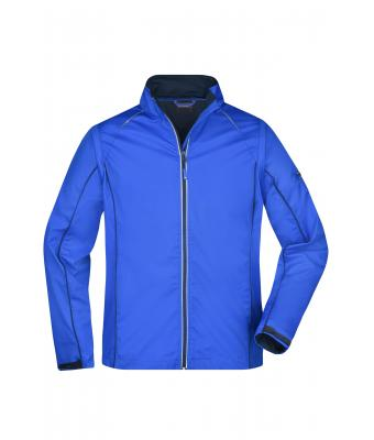 Herren Men's Zip-Off Softshell Jacket Nautic-blue/navy 8406