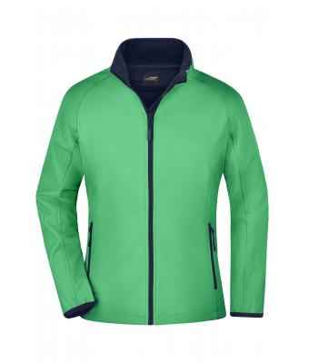 Damen Ladies' Promo Softshell Jacket Green/navy 8411