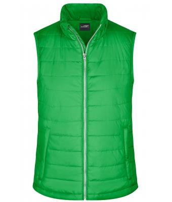 Damen Ladies' Padded Vest Green 8499