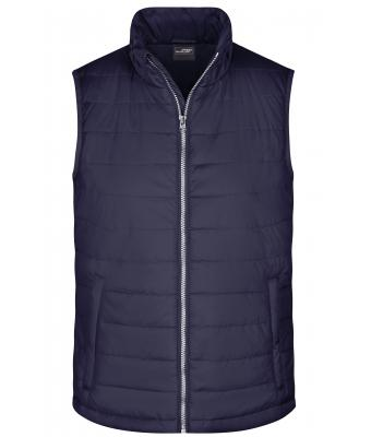 Herren Men's Padded Vest Navy 8498