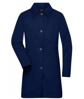 Ladies Ladies' Travel Coat Navy 8521