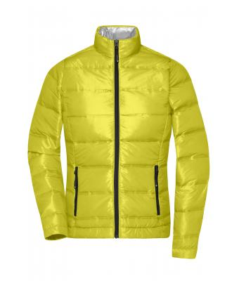 Damen Ladies' Down Jacket Yellow/silver 8620