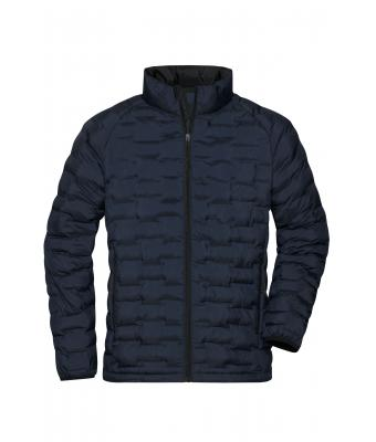 Men Men's Modern Padded Jacket Navy-matt 10466