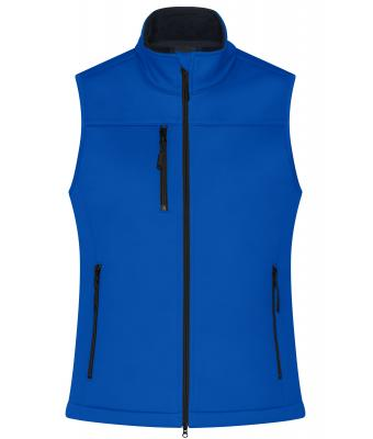 Damen Ladies' Softshell Vest Nautic-blue 10461