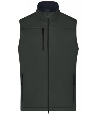 Men Men's Softshell Vest Graphite 10462