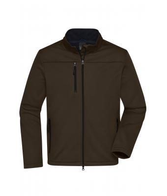 Men Men's Softshell Jacket Brown 10464