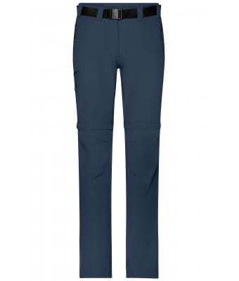 Damen Ladies' Zip-Off Trekking Pants Navy 8600